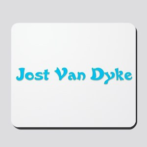 Jost Van Dyke Mousepad