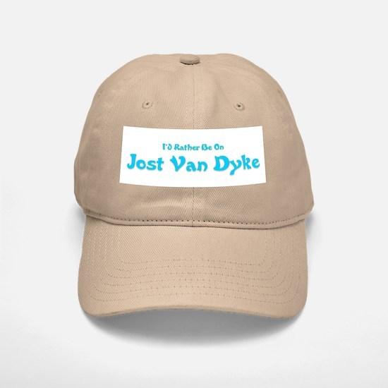 I'd Rather Be...JVD Baseball Baseball Cap