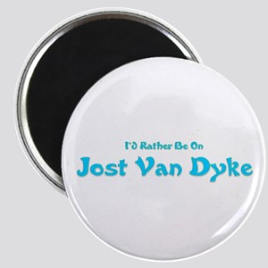 I'd Rather Be...JVD Magnet