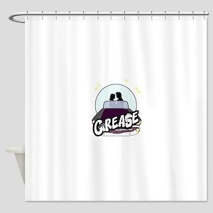 StarGrease Shower Curtain