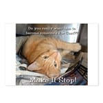 Make it Stop 1 Postcards (Package of 8)