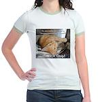 Make it Stop 1 Jr. Ringer T-Shirt