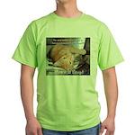 Make it Stop 1 Green T-Shirt