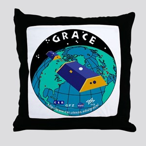 GRACE Logo Throw Pillow