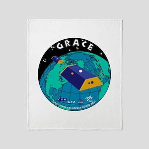 GRACE Logo Throw Blanket