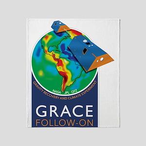GRACE-FO Throw Blanket