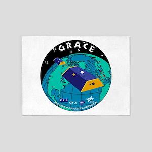 GRACE Logo 5'x7'Area Rug