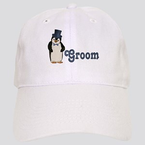 Penguin Wedding - Groom Cap