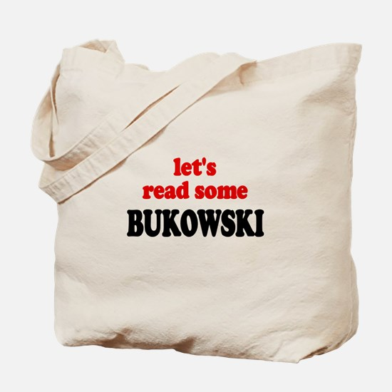 Let's Read Bukowski Tote Bag