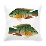 Redbreast tilapia Everyday Pillow