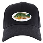 Redbreast Tilapia Baseball Black Cap With Patch