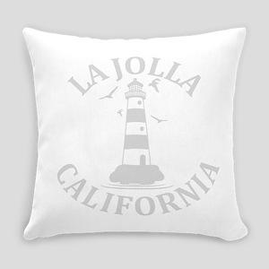 Summer la jolla shores- california Everyday Pillow