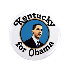 Kentucky for Obama Big Campaign Button