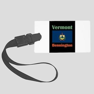Bennington Vermont Luggage Tag