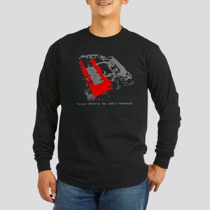 "S2K ""2 Liters"" Long Sleeve Dark T-Shirt"