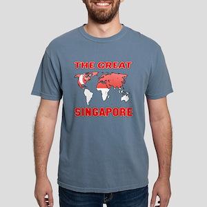 The Great Singapore Desi Mens Comfort Colors Shirt