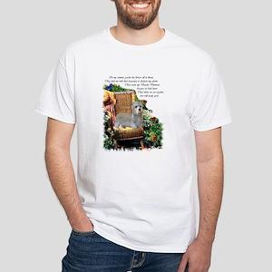 Dandie Dinmont Terrier White T-Shirt