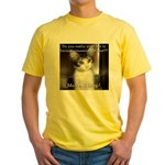 Make it Stop 2 Yellow T-Shirt