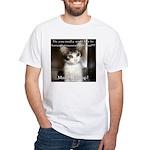 Make it Stop 2 White T-Shirt