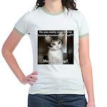 Make it Stop 2 Jr. Ringer T-Shirt