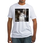 Make it Stop 2 Fitted T-Shirt