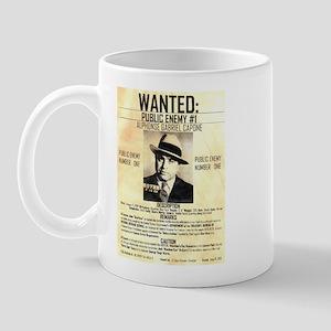 Wanted Al Capone Mug