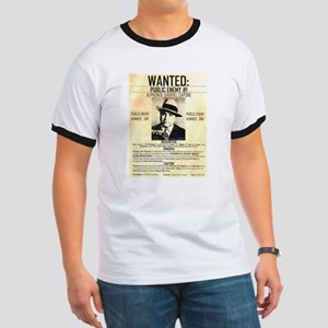 Wanted Al Capone Ringer T