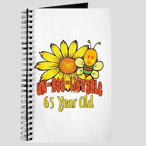 unbelievable 65th birthday Journal