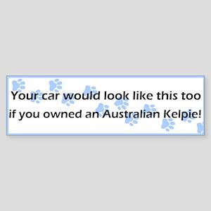 Your Car Australian Kelpie Bumper Sticker