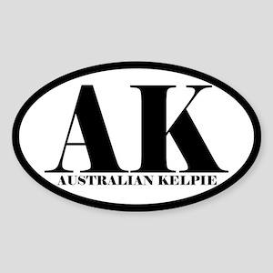 AK Abbreviation Australian Kelpie Sticker