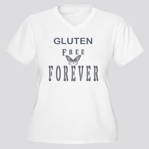 Gluten Free Forever Plus Size T-Shirt