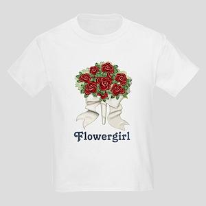 Penguin Wedding - Flowergirl Kids Light T-Shirt