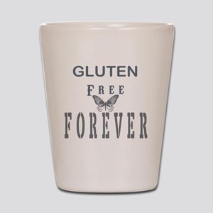 Gluten Free Forever Shot Glass