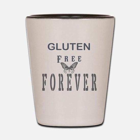Gluten Free Forever Shot Glass
