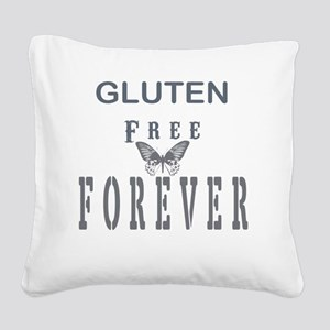 Gluten Free Forever Square Canvas Pillow