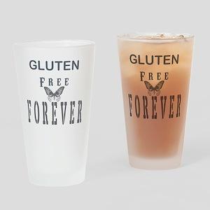 Gluten Free Forever Drinking Glass