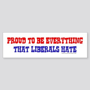 Liberals Hate Bumper Sticker