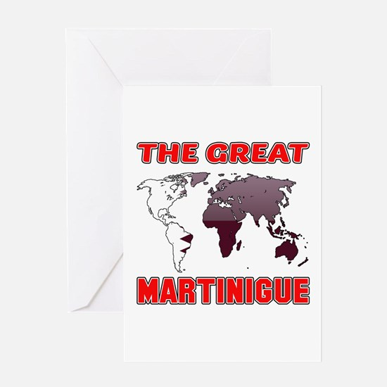 The Great Martinigue Designs Greeting Card