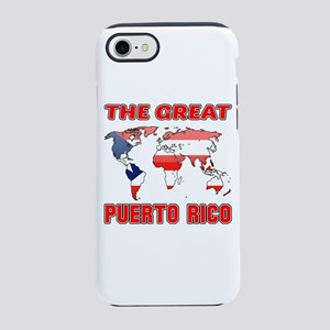 The Great Puerto Rica Design iPhone 8/7 Tough Case