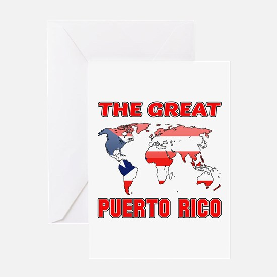 The Great Puerto Rica Designs Greeting Card