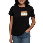 Pat McGroin Name tag Women's Dark T-Shirt