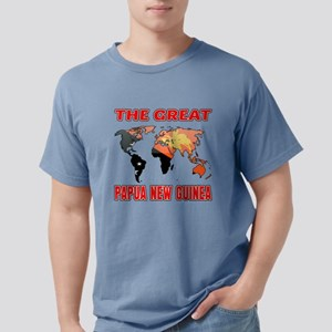 The Great Papua New Guin Mens Comfort Colors Shirt