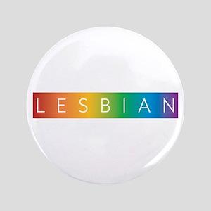 "Rainbow Spectrum Lesbian 3.5"" Button"