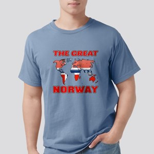 The Great Norway Designs Mens Comfort Colors Shirt