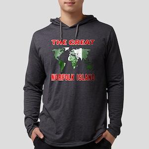 The Great Norflok Island Korea D Mens Hooded Shirt
