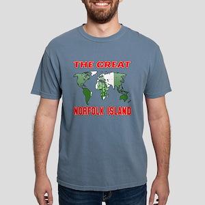 The Great Norflok Island Mens Comfort Colors Shirt