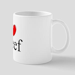 """I Love (Heart) Keef"" Mug"