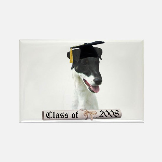 Smooth Fox Grad 08 Rectangle Magnet (100 pack)