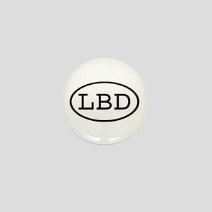 LBD Oval Mini Button