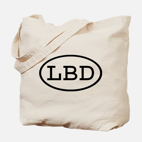 LBD Oval Tote Bag